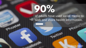 social media channels for healthcare